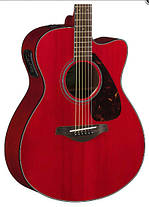 Электроакустическая гитара YAMAHA FSX800C (RR), фото 2