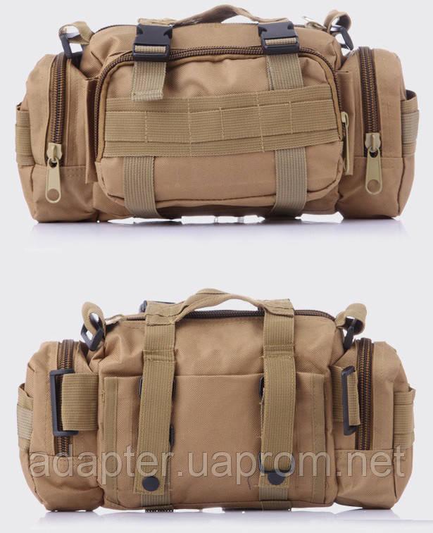 391f814e10ac Сумка через плечо на пояс штурмовая тактическая Battler v.3 олива -  Интернет-магазин