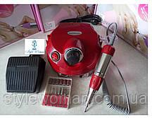 Фрезер для манікюру і педикюру DM - 202 30000 обертів(35W) 35вт червоний