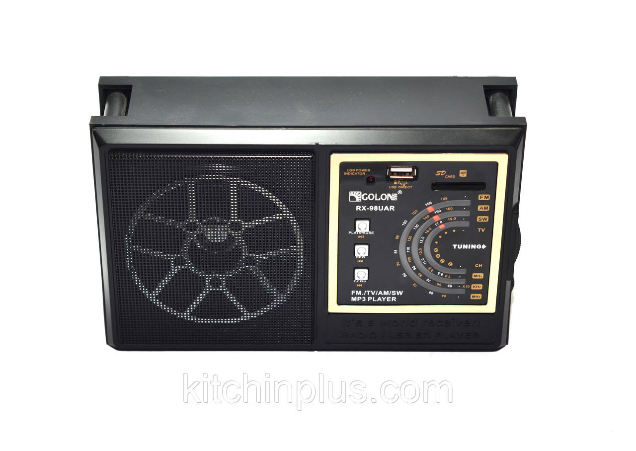 Радіоприймач Golon RX-98UAR