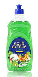 "Gold Cytrus  0.5 л. Средство для мытья посуды ""Зеленый лимон"""
