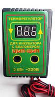 Цифровой терморегулятор с влагомером для инкубаторов Цып-Цып 10 А