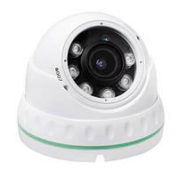 AHD камера охранного видеонаблюдения COLARIX CAM-DOV-004 2Мп, f2.8-12мм.