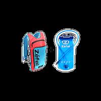 Рюкзак Zefal Z Hydro L,с гидратором 2л, красно-голубой