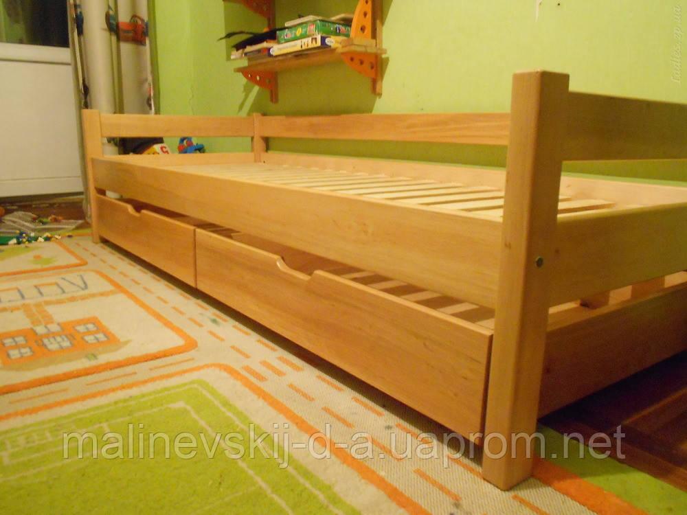 Кровать  деревянная 80*190 Эконом