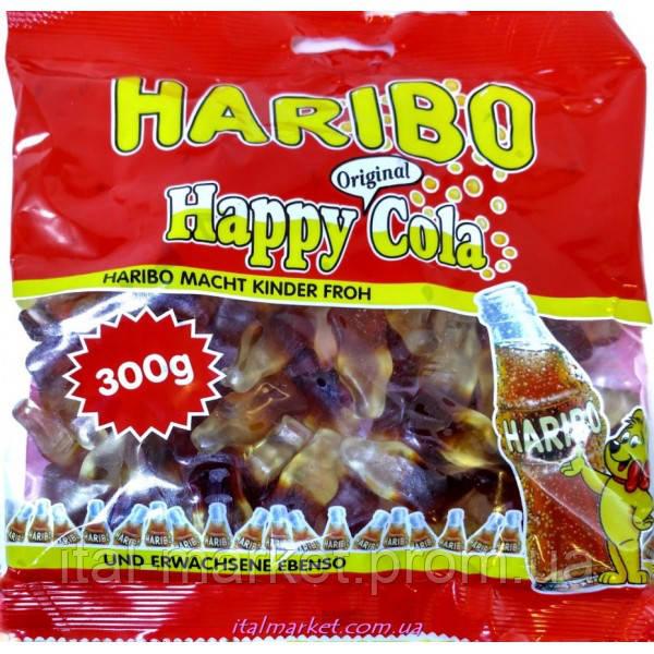 Желейки Харибо Хеппи Кола Haribo Happy Cola 300г