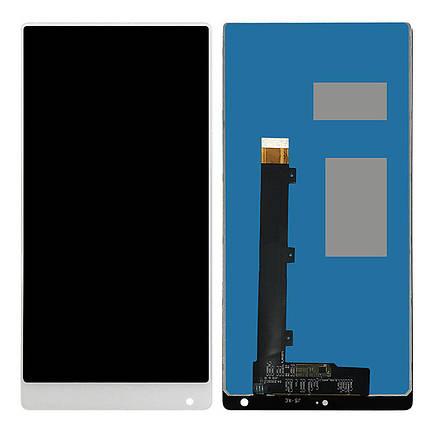 Дисплей (экран) для Xiaomi Mi Mix з сенсором (тачскріном) белый, фото 2