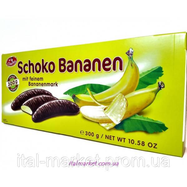 Конфеты Банан в шоколаде Schoko Bananen 300г