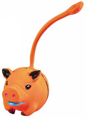 Игрушка для собак Мяч-животное с хвостом латекс 6 см Trixie
