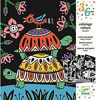 DJECO Комплект розмальовок Кумедні тварини