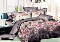 Двуспальный комплект постельного белья евро 200*220 хлопок  (9422) TM KRISPOL Украина