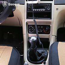 Кабель Lightning Baseus Elastic спиралеобразный для зарядки и передачи данных iPhone/iPad/iPod (Черный, 1.6м), фото 3