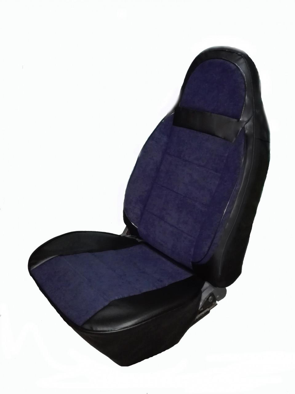 Чехлы на сидения универсальные -  комбинированные