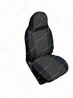Чохли на сидіння універсальні - з автоткани Pilot Lux сірий