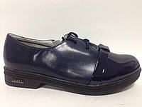 Туфли детские девочка темно синие 9467-28