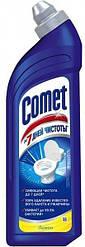 """Comet 750 мл. Чистящее средство для унитаза """"Лимон. 7 дней чистоты"""""""