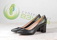 Туфли женские кожаные МАРІНІ 16149-1ЧК 37,39 размеры