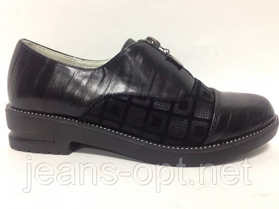 Туфли детские девочка черные  61-08, фото 2