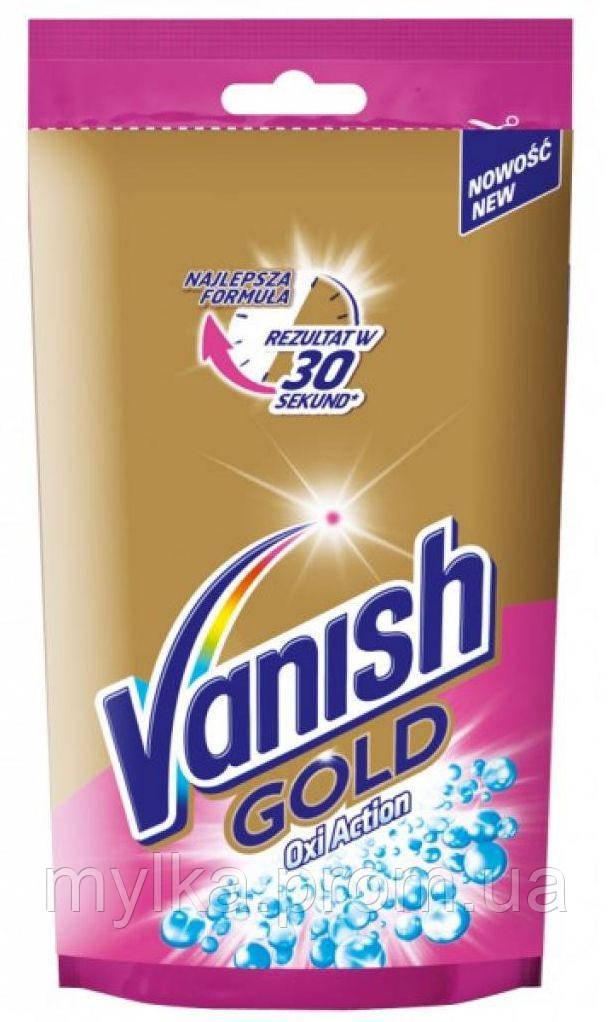 """Vanish 100 мл. Жидкий пятновыводитель для тканей """"Oxi Action. Gold"""". Гель"""