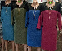 Платье из ангоры Цепочка  50-60