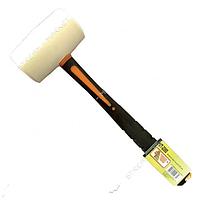 INTERTOOL Киянка резиновая 680г. 80 мм, белая резина, ручка из стекловолокна UT-2080