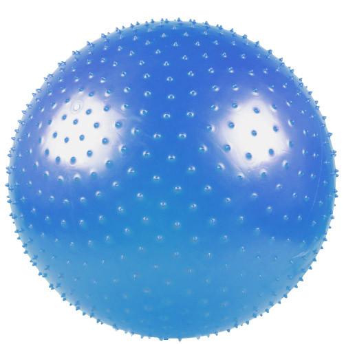 Мяч массажный LiveUp Massage 65 см Blue (LS3224-65)