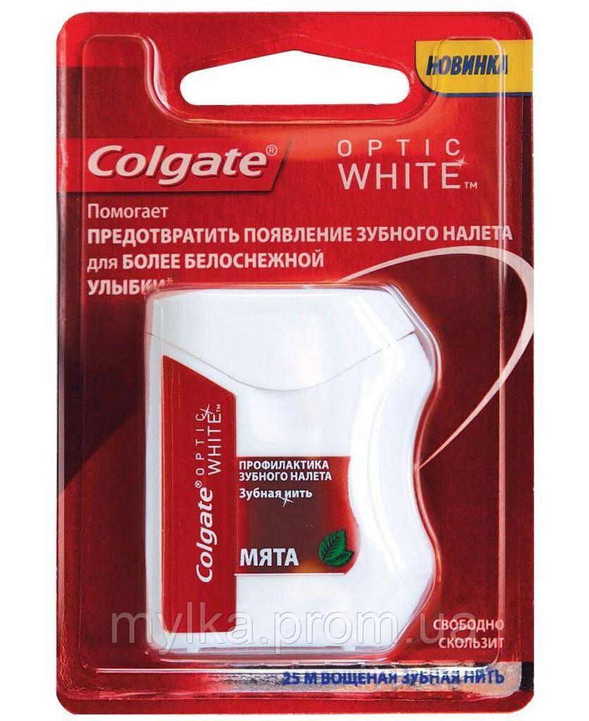"Colgate  1 шт. Зубная нить ""Optic White"""