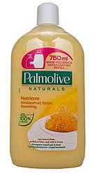 """Palmolive 750 мл. Жидкое мыло """"Натурэль. Мед и увлажняющее молочко"""". Запаска"""
