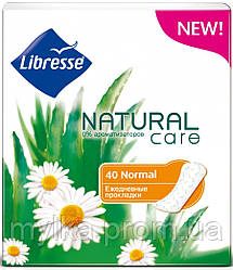 "Libresse  40 шт. Гигиенические прокладки ""Natural Care Normal"""