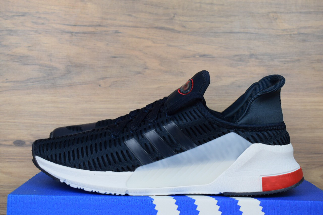 finest selection b4645 80f82 Беговые кроссовки Adidas ClimaCool синие с красным люкс копия