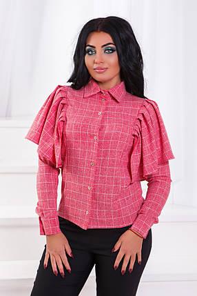 ДТ213 Рубашка с воланами  (размеры 50-56), фото 2