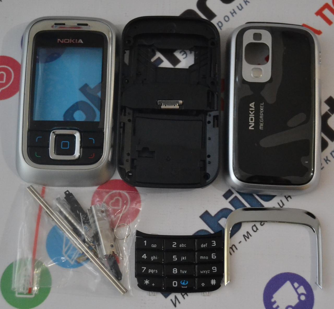 7504e714be9e Корпус для телефона Nokia 6111 в сборе (Качество ААА) (Серый) Распродажа!