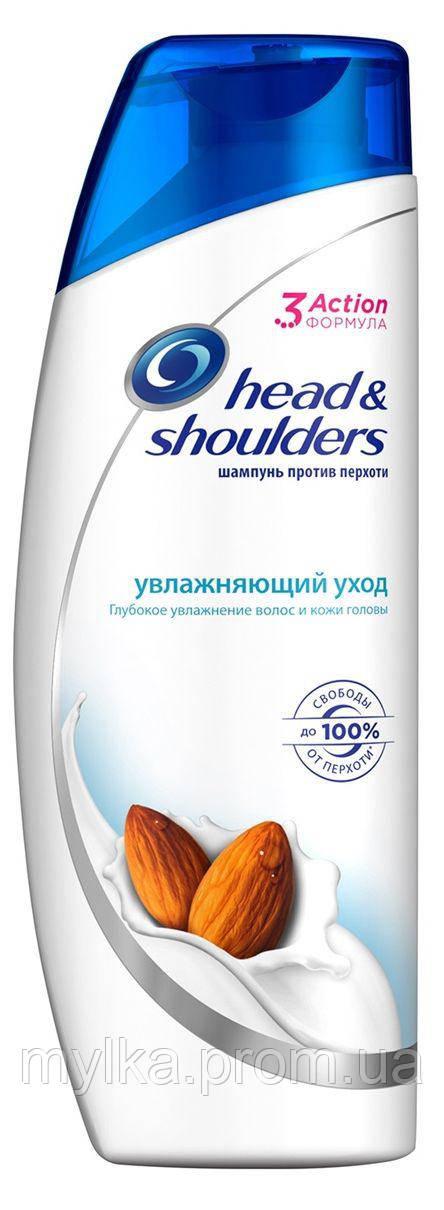 """Head & Shoulders  200 мл. Шампунь от перхоти для мужчин """"Увлажняющий уход"""""""