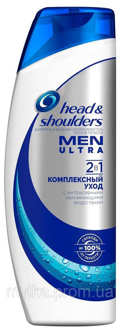 """Head & Shoulders  400 мл. Шампунь от перхоти для мужчин 2-в-1 """"Комплексный уход"""""""