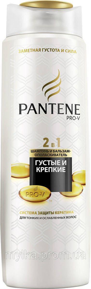 """Pantene 400 мл. Шампунь 2-в-1 """"Густые и крепкие"""""""