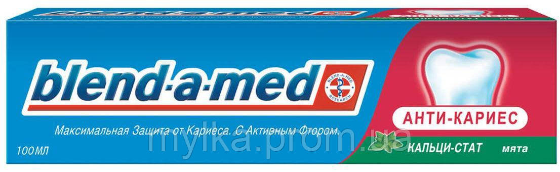 "Blend-a-med  100 мл. Зубная паста ""Антикариес. Мята"""