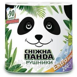 "Снежная панда 2 шт. Бумажные полотенца ""Экстра Лонг"""
