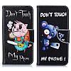 """Samsung J7 (2015) J700H оригинальный чехол книжка противоударный с принтом рисунком карманами на телефон """"TM3"""", фото 6"""