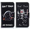 """Samsung J7 (2015) J700H оригинальный чехол книжка противоударный с принтом рисунком карманами на телефон """"TM3"""", фото 7"""