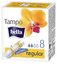 """Bella  8 шт. Гигиенические тампоны """"Tampo. Premium Komfort Regular"""""""