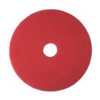 "Абразивный круг (пад) 3М 17"" 432 мм стандарт, красный"