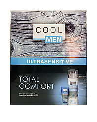 "Cool MEN Косметический набор ""Ultrasensitive. Total Comfort"". Пена и гель после бритья"