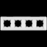 Рамка 4-местная Белый Meridian Viko, 90979004-WH