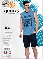 GUNES Комплект мужской с шортами 4857