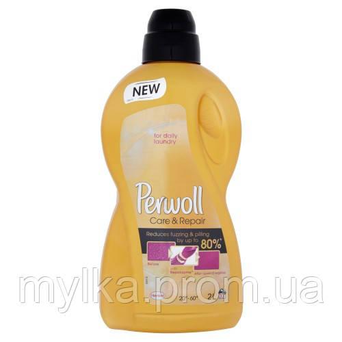 """Perwoll 4.38 л. Жидкое стиральное средство-гель """"Уход и восстановление"""""""