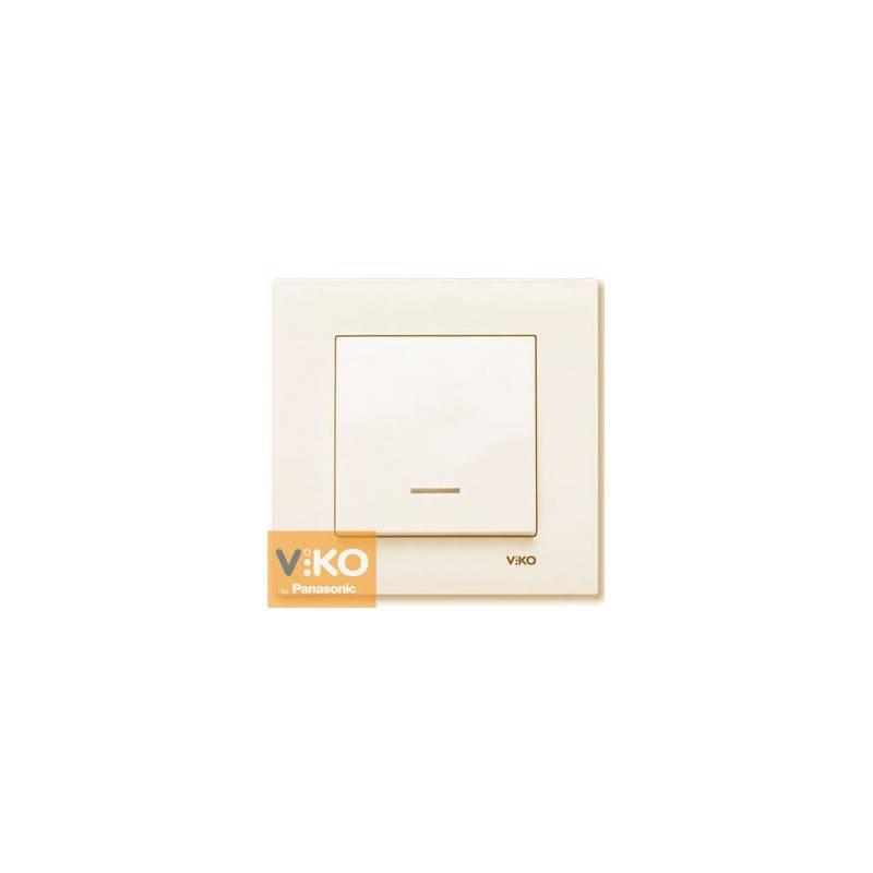 Выключатель с подсветкой Viko Karre Крем 90960119