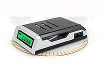 Зарядное устройство C905W с дисплеем для аккумуляторов AA /AAA, Ni-Cd /Ni-MH  Серебряный