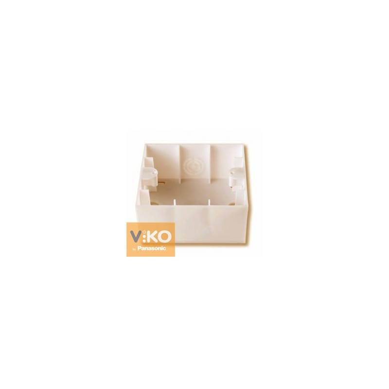 Коробка наружного монтажа Viko Karre Крем 90960111