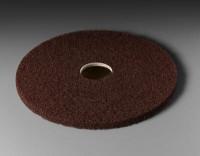 "Абразивный круг (пад) 3М 17"" 432 мм стандарт, коричневый"