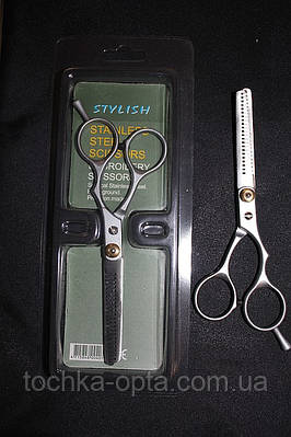 Парикмахерские ножницы филировочные